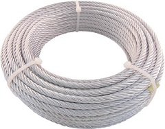 JIS-Compliant Plated Wire Rope
