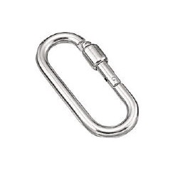 "Ring Catch ""Open Hook P Type"" (Stainless Steel)"