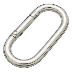"Ring Catch ""Carabiner Junior"" (Stainless Steel)"