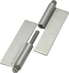 Steel Detachable Weld-On Hinge