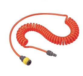 Urethane Coiled Hose (with Plastic Coupling)