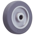 Wheel for Dedicated Caster E Series, Elastomer Wheel for Light Loads E-TB (GOLD CASTER)