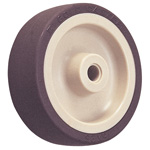 Wheel for Dedicated Caster E Series, Urethane Wheel for Light Loads E-U/E-UB (GOLD CASTER)