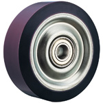 Wheel for Dedicated Caster H Series, Urethane Wheel for Heavy Loads H-UB (GOLD CASTER)