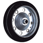 Wheel for Dedicated Caster S Series, Rubber Wheel for Medium-Light Loads S-R/S-RB/S-NRB (GOLD CASTER)