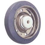 Wheel for Dedicated Caster SUS-S Series (Stainless Steel), Rubber Wheel for Medium-Light Loads S-R/S-RB (GOLD CASTER)