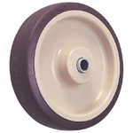 Wheel for Dedicated Caster SUS-S Series (Stainless Steel), Urethane Wheel for Medium Loads, S-UB (GOLD CASTER)