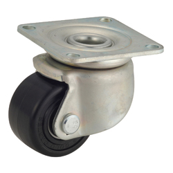 General Caster, Steel, Heavy Load Plate Swivel Type, H Series (GOLD CASTER)