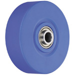 Wheel For Dedicated Caster W Series, Medium Duty MC Nylon Wheel, W-MCE/W-MCA/W-MCB (GOLD CASTER)