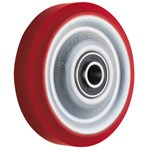 Wheel for Dedicated Caster W Series, Urethane Wheel for Medium Loads W-UB (GOLD CASTER)