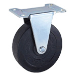 General Caster, Steel, Light Load Plate Fixed Type, E Series, EK (GOLD CASTER)
