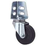 General Caster, Steel, Medium-Light Load for Angles, S Series, SB (GOLD CASTER)