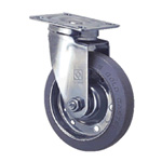 General Caster, Stainless Steel, Medium Load Plate Swivel Type, S Series, SJ (GOLD CASTER)