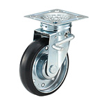 High Tensile Caster, Swivel Double Stopper