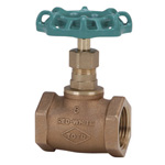 100 N Type - Bronze Screw-in Type Globe Valve