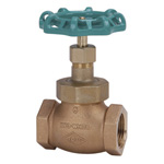 125C Type Bronze Screw-in PTFE Disc-Contained Globe Valve