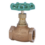 125C Type Bronze Screw Down Globe Valve