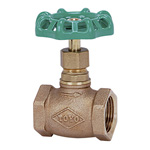 125H Type Bronze Screw-in PTFE Disc-Contained Globe Valve