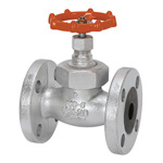 16K Type Ductile Cast-Iron Flanged Globe Valve <Union Bonnet Type>