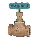 J5K Bronze Screw Down Ball Valve (Metal Sheet) (JIS B 2011) <<This Product Displays The New JIS Mark.>>