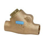 125 H Type - Lead-Free Bronze Soldered Swing Check Valve