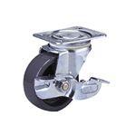 Standard Class 100-Ns Truck Type Nylon Wheel with Stopper (Packing Caster)