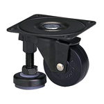 Function Type 100AF Truck Type Synthetic Rubber Wheel with Adjuster Foot (Packing Caster)