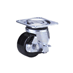 Heavy Class 100HB-Ps Truck Type Special Synthetic Resin Wheel with Roller Bearing for Heavy Weights with Stopper (Packing Caster)