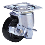 Medium Class 100JH-Ps Truck Type Special Synthetic Resin Wheel for Medium Weights with Stopper (Packing Caster)