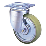 Heavy Class 100HB-PA Truck Type PA Polyurethane Wheel with Roller Bearing for Heavy Weights (Packing Caster)