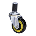 Conductive Type 200E Cask Type Conductive Wheel, Synthetic Rubber Wheel (Packing Caster)