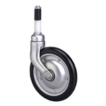 Medical Type 200MD Cask Type (Light Alloy) Medical Caster, Synthetic Rubber Wheel (Packing Caster)