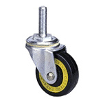 Conductive Type 300E Bolt Type Conductive Wheel, Synthetic Rubber Wheel (Packing Caster)
