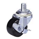 Heavy Class 300HB-Ps Bolt Type Special Synthetic Resin Wheel with Roller Bearing for Heavy Weights with Stopper (Packing Caster)