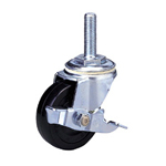 Standard Class 300s Bolt Type Synthetic Rubber Wheel with Stopper (Packing Caster)
