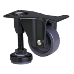 Function Type 600AF-N Fixed Type Nylon Wheel with Adjuster Foot (Packing Caster)
