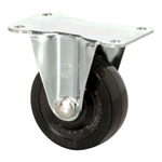 Standard Class 600B Fixed Type Synthetic Rubber Wheel with Roller Bearing (Packing Caster)