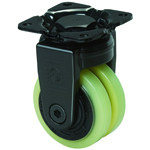 Super Heavy Class 600X-PA Fixed Type PA Polyurethane Wheel for Super Heavy Weights (Packing Caster)