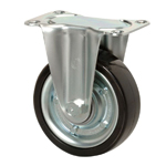 Medium Class 600HB Fixed Type Synthetic Rubber Wheel for Heavy Weights with Roller Bearing (Packing Caster)