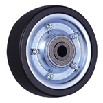 HB Heavyweight Wheel with Roller Bearing, Synthetic Rubber