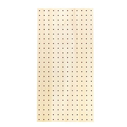 Perforated Board Using Natural Wood