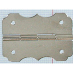 Brass N Plated Flower Type Hinge VF