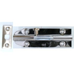 Ruby Chrome Round Bolt Lock VC