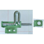 Iron Coated Gate Latch VD