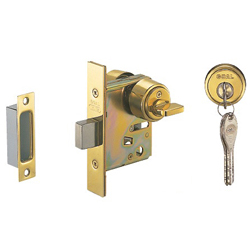 Goal Brand Deadbolt Lock, Back Set 51 mm, Barrier-Free HD-V18