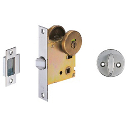 Lever Handle Display / Partition Lock Back Set 51 mm
