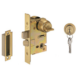 Showa Brand CL Lock Back Set 50 mm, Entrance Lock C-CL