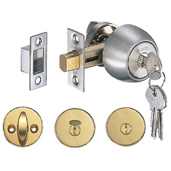 Tubular Deadbolt Lock Back Set 50 mm
