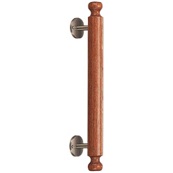 Wood Handle with Decorative Knob No. 32