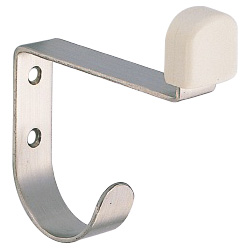 Stainless Steel Doorstop with Hook RS-9